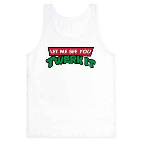 Turtle Twerk Tank Top