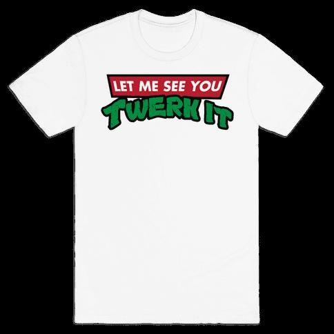 Turtle Twerk Mens T-Shirt