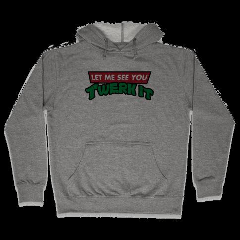 Turtle Twerk Hooded Sweatshirt