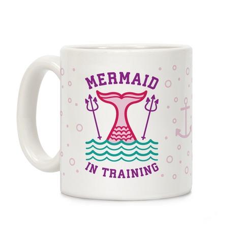 Mermaid In Training Coffee Mug