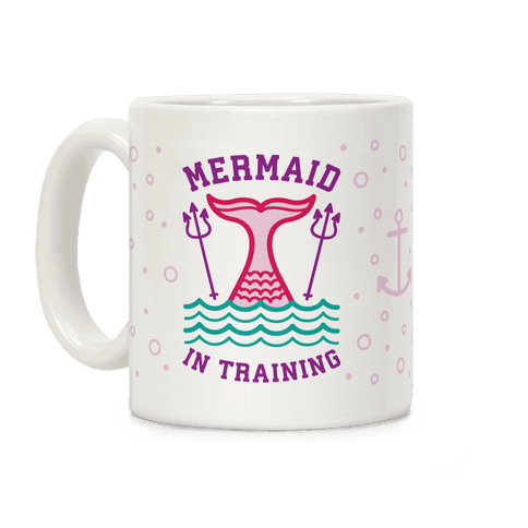 Mermaid In Training Coffee Mug
