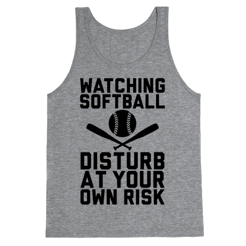 Watching Softball Tank Top