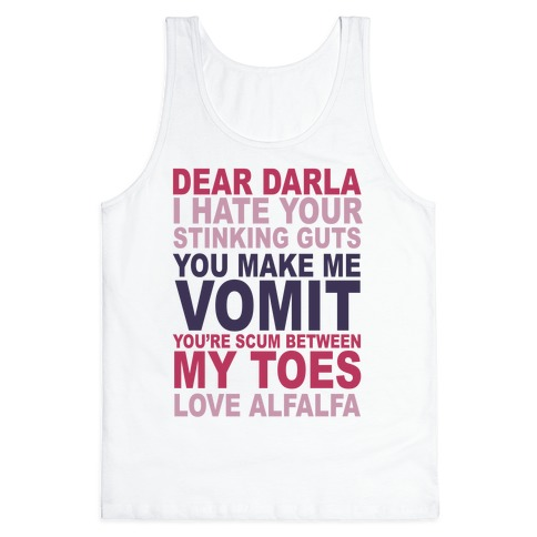 Dear Darla Tank Top
