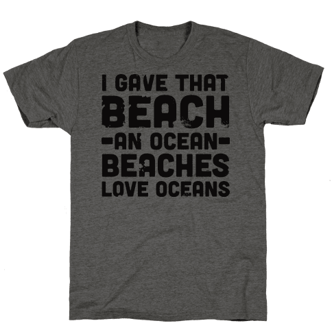 Beaches Love Oceans