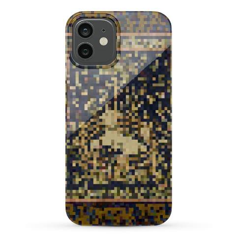Pixel Unicorn Tapestry Phone Case