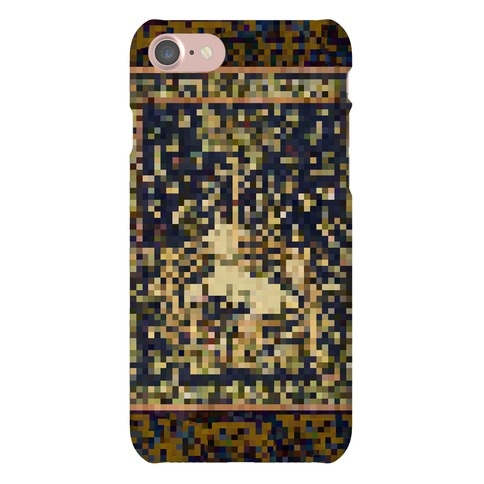 Pixel Unicorn Tapestry Phone Case