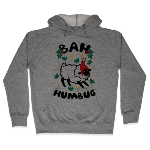 Bah Humbug Hooded Sweatshirt