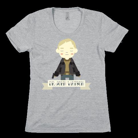 Dr. John Watson Womens T-Shirt