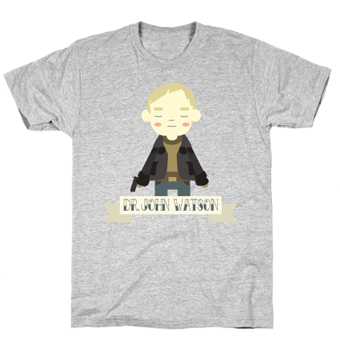 Dr. John Watson Mens T-Shirt