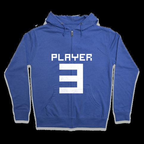 Player 3 Zip Hoodie