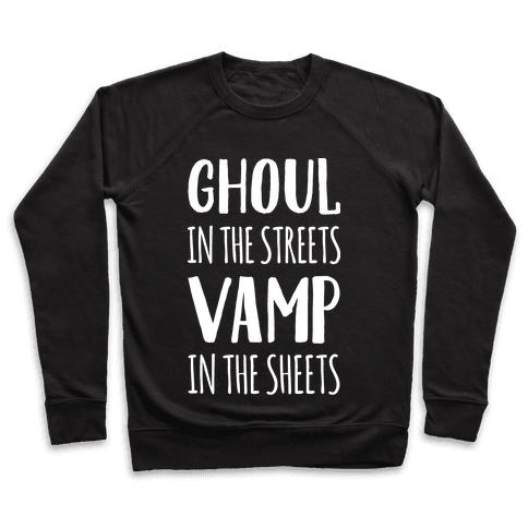 Ghoul In The Sheets Vamp In The Sheets Pullover