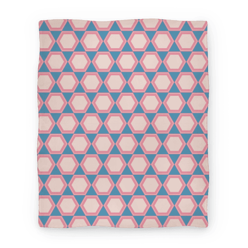 Hex Grid Blanket Blanket