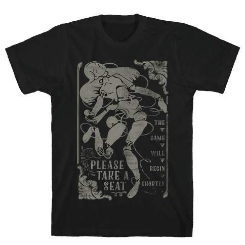 Death Parade Doll Mens T-Shirt