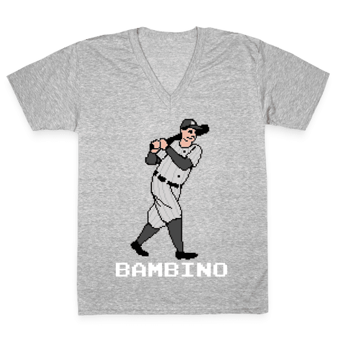 The Babe V-Neck Tee Shirt