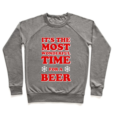It's the Most Wonderful Time For a Beer Pullover