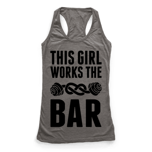 This Girl Works The Bar