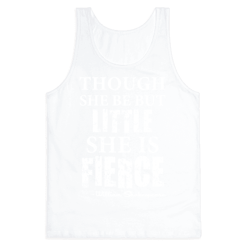 Little But Fierce Tank Top