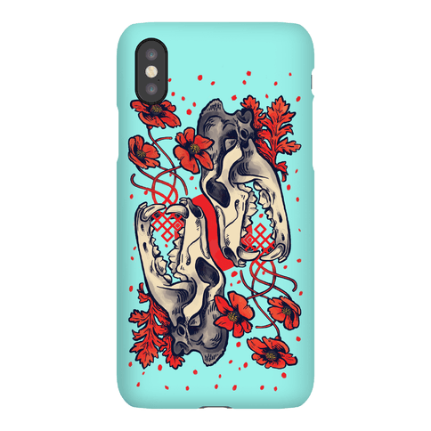 Sleep And The Coyote Phone Case