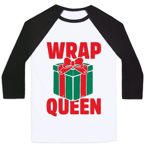 Wrap Queen Baseball Tee