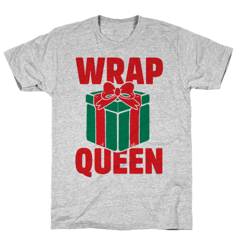 Wrap Queen Mens T-Shirt
