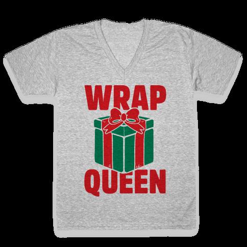 Wrap Queen V-Neck Tee Shirt