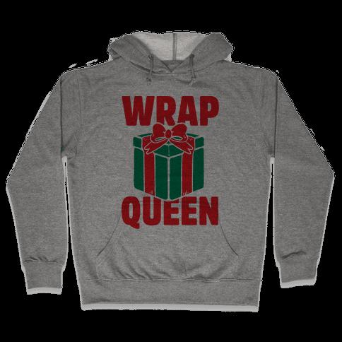 Wrap Queen Hooded Sweatshirt