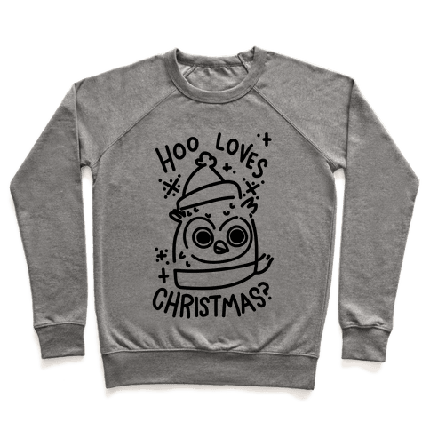 Hoo Loves Christmas? Pullover