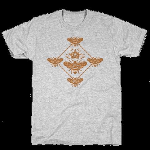Regal Golden Honeybee Mens T-Shirt