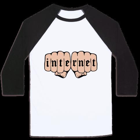 Internet Knuckles Baseball Tee
