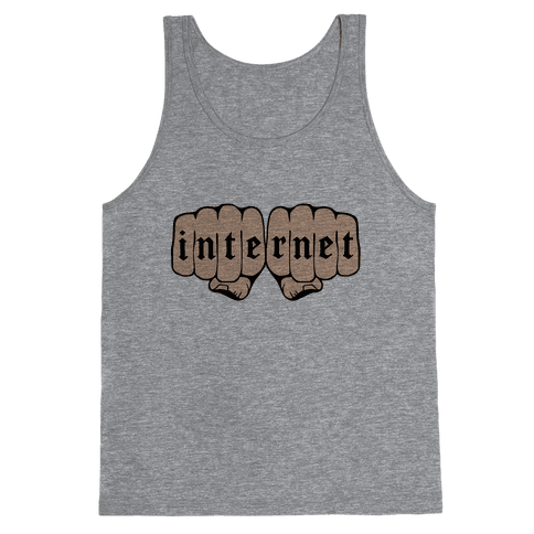 Internet Knuckles Tank Top