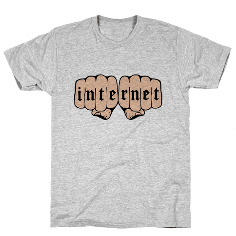 Internet Knuckles Mens T-Shirt
