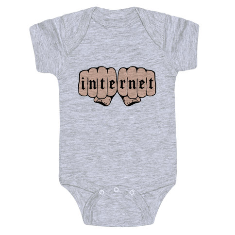 Internet Knuckles Baby Onesy