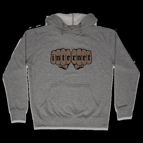 Internet Knuckles Hooded Sweatshirt