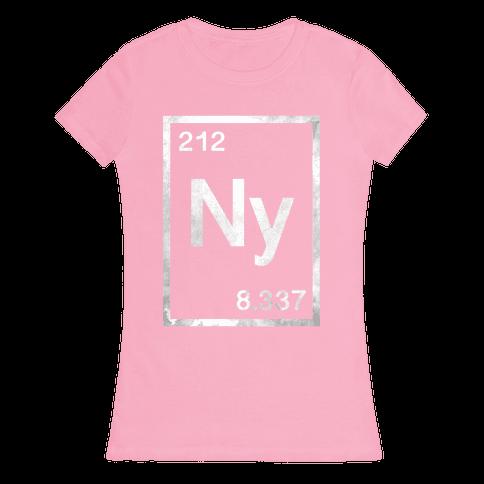 Periodic New York Womens T-Shirt