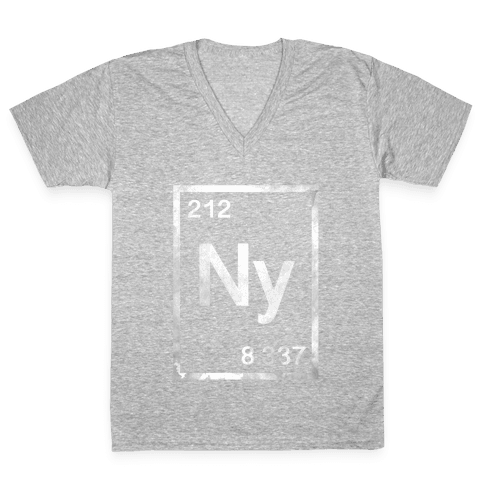 Periodic New York V-Neck Tee Shirt