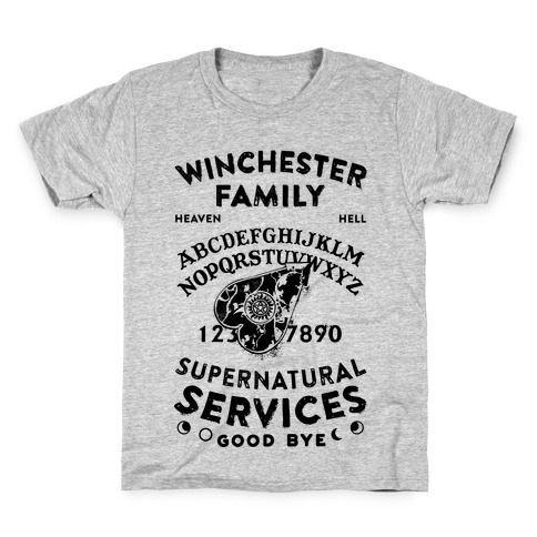 Winchester Family Ouija Board Kids T-Shirt