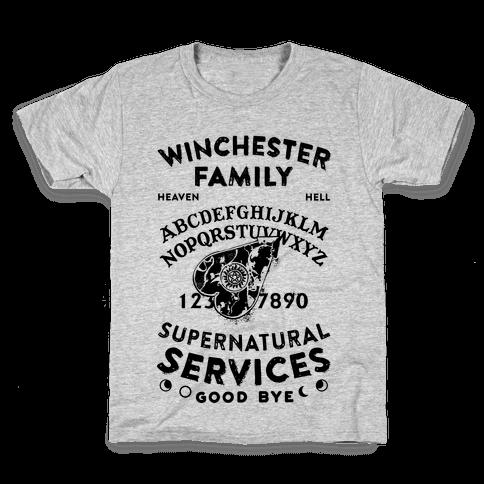 Winchester Family Ouija Board Kids T-Shirt