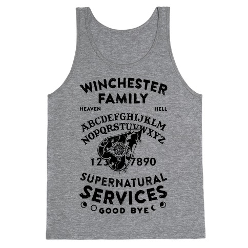 Winchester Family Ouija Board Tank Top