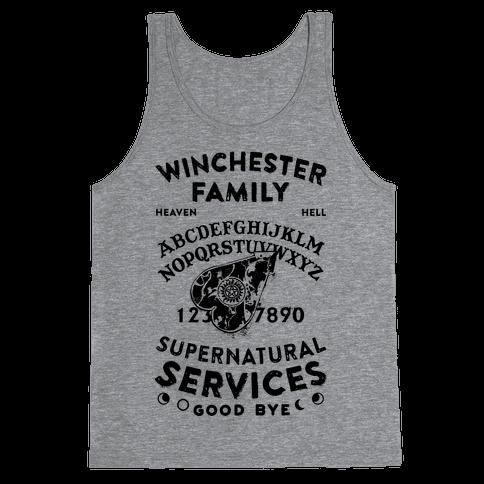 Winchester Family Ouija Board Tank Top