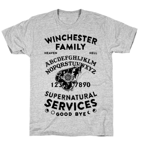 Winchester Family Ouija Board T-Shirt