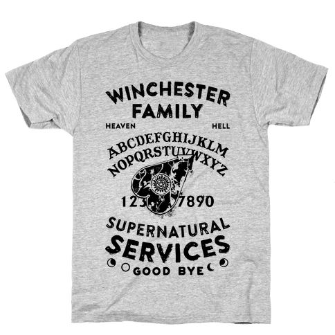 Winchester Family Ouija Board Mens T-Shirt