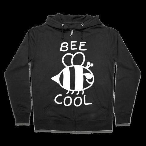 Bee Cool Zip Hoodie