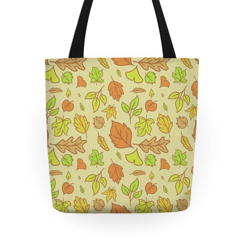 Autumn Leaves (Pattern) Tote