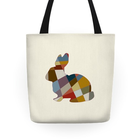 Mosaic Pattern Bunny Tote
