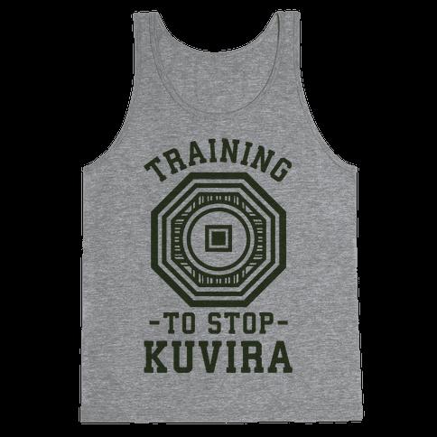 Training to Stop Kuvira Tank Top