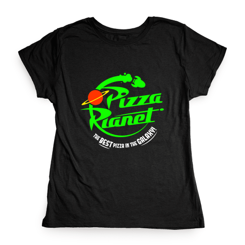 Pizza Planet Womens T-Shirt
