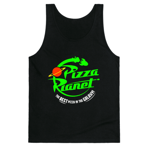 Pizza Planet Tank Top