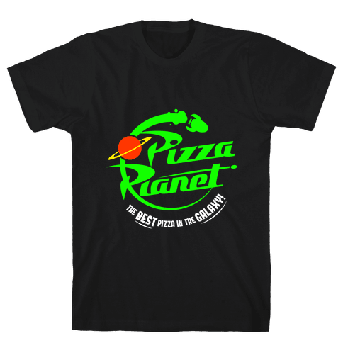 Pizza Planet Mens T-Shirt