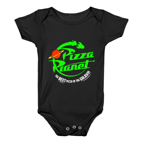 Pizza Planet Baby Onesy