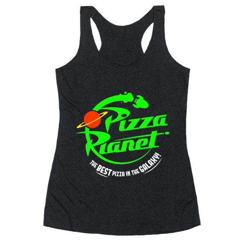 Pizza Planet Racerback Tank Top